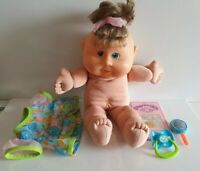 2004 Cabbage Patch PLAY ALONG - Clothing, Birth Certificate, Dummy, MESSY FACE
