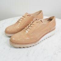 [ NINE WEST ] Womens Platform Oxford Lace up Shoes | Size 9 M