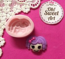 Lalaloopsy Doll Silicone  Mold Food  Cake Decoration Candy Cupcake (FDA)