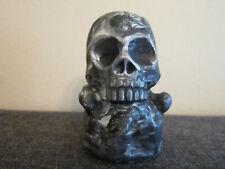 Totenkopf - Briefbeschwerer - Skull - Crossbones - Death Head - Deko - Figur