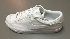 Nike ALL COURT SP / A.P.C MEN'S SHOES  WHITE/WHITHE 744285 100 Rare