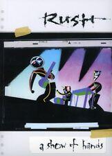 Rush: A Show of Hands (2007, DVD NUOVO) (REGIONE 0)