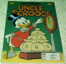 "Walt Disney's Uncle Scrooge 303, NM- (9.2) Barks:  ""Rocks to Riches"""