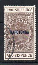 Islas Cook-NZ Postal Fiscal meridional Opt Fu Cds