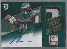2015 PANINI ELITE NEW BREED NELSON AGHOLOR RC AUTO 3 COLOR PATCH 04/25!!