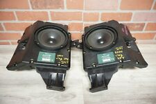 1997-2004 JAGUAR XK8 REAR LEFT & RIGHT AUDIO SOUND SUBWOOFER ALPINE SET 49K OEM*
