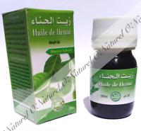Huile de Henné (Macérât Huileux) 100% Naturelle 30ml Henna Oil, Aceite de Henna