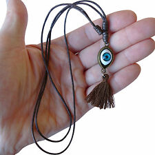 Evil Eye Necklace Pendant Chain Womens Girls Mens Boys Children Ladies Jewellery