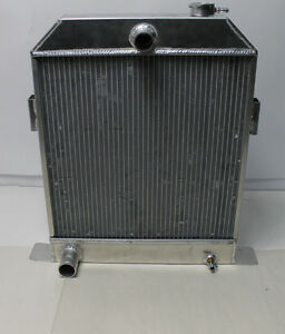 AFCO RADIATOR 1942-48 FORD Aluminum for Ford Engine Hot Street Rod BENT FINS NEW