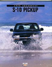 1998 Chevrolet S-10 Pickup Brochure EX 071516jhe