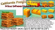 PALLETED Stack o' SACKS (3pcs) N/1:160-Craftsman CAL FREIGHT NAI1