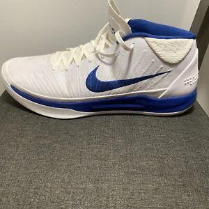 NIKE Kobe AD Mid Kentucky Men's SIZE 16 Basketball Shoe White/Blue (942521-109)