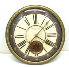 "Sterling & Noble 14"" Wall Clock with Sweep Second Hand Dial Home Decor"