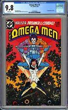 OMEGA MEN #3 - CGC 9.8 WHITE NM/MT First LOBO