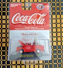 M2 Machines Coca-Cola 1/64 Ford F-100 Tow Truck