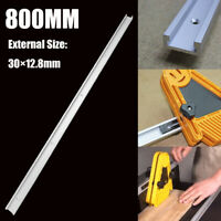 800mm T-tracks T-slot Miter Track Jig Fixture Slot For Router Table Band Saw