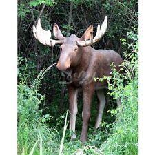 ELCH 245 cm lebensgroß Deko Garten Tier Figur KUH BULLE WEIHNACHTEN WERBUNG