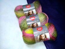 NEW Red Heart Boutique Unforgettable Yarn 3-3.5oz. Skeins Same Dye Lot SUGARCANE