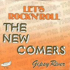 7inch THE NEW COMERS	let's rock n roll	BELGIUM EX+ RONNEX ROCKABILLY  (S1909)