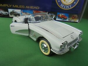 Franklin Mint 1958 Limited Edition 1:24 Chevrolet Corvette No.2373 of 2500 Boxed