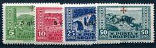ALBANIEN 1924 96-99 ** POSTFRISCH SATZ ROT KREUZ 100€(I2337