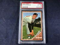 X3-33 BASEBALL CARD - DON McMAHON MIL BRAVES - 1962 TOPPS - CARD #483 - GRADE 4