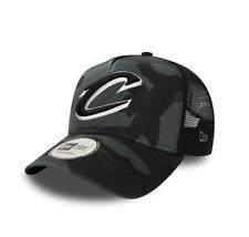 New Era NBA Cleveland Cavaliers Incurvé Noir Camouflage Trucker Snapback Hat