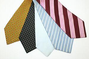 LOT OF 5 KITON  silk ties MADE IN ITALY. F14796