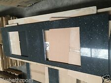 1500 black sparkle stone bench top for 1500mm bathroom vanity