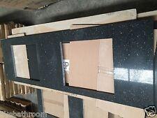 1500 black sparkle stone bench top for 1500mm bathroom vanity