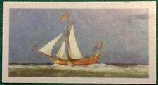 Brooke Bond Saga of Ships card 13. Royal Yacht Mary, King Charles II.
