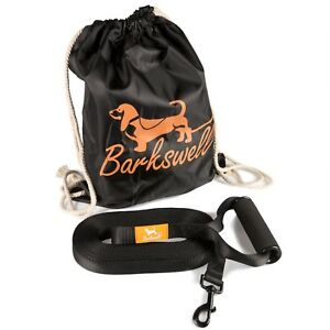Dog Training Lead - 30/50 Foot Long for Pups and Dogs - Soft Foam Barrel Handle