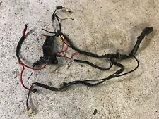 Volvo penta AQ171C engine wiring harness removed from running engine