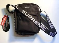 Supreme Shoulder Bag (SS18) Black 100% Authentic
