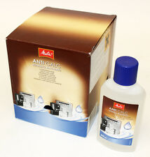 10 X Melitta Anti Calc Liquid Desaler,  250ml Bottle, BULK ORDER! MEL6638320