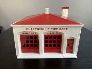 BACHMANN PLASTICVILLE USA FIRE DEPT. HOUSE KIT VINTAGE O FH-4 Train Railroad RR