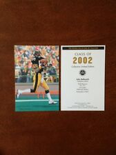 John Stallworth Steelers unsigned Goal Line Art Card in Toploader
