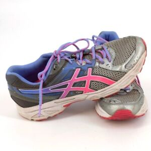 Women's Asics Gel Contend 2 Blue/Gray/Pink Athletic Shoes #T474N Size 11