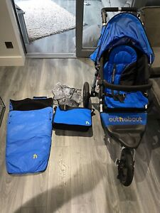 Out n About Nipper 360 V4 Single Pushchair with Extras