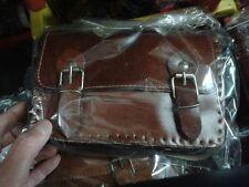 borsa pelle vero cuoio tracolla artigianale tracolla bag skin 20x14 cm larg 7