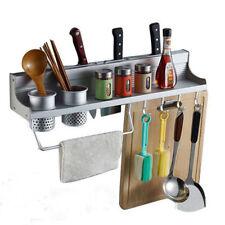Hot aluminum Seasoning Rack Storage Kitchen Spice Tool Holder Wall Mount 、Pop