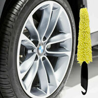Car Wash Sponges Handle Brush Auto Wheel Cleaning Rims Tire Washing Tools Supply