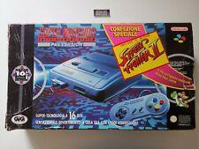 Console SUPER NINTENDO SNES PAL ITA Street Fighter II Bundle GIG