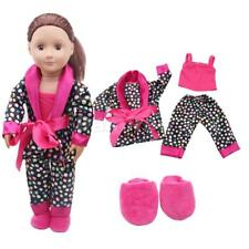 """5pc Clothes Shoes for 18"""" American Girl Our Generation Dolls Pajamas Slipper"""