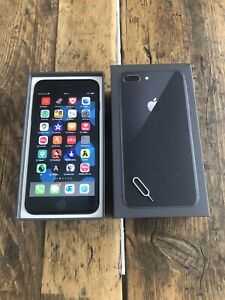 Apple iPhone 8 Plus 64GB Space Grey UNLOCKED Great Condition