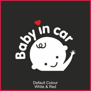Baby on board Decal, Sticker, Cute, Funny, Decal, Graphic,on board, N2026