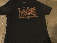 Lucky Brand Tiger T Shirt L
