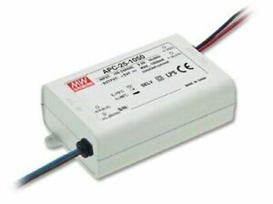 MEAN WELL Switched Mode Power Supply Constant Current 25W 700mA 11-36V IP42 RoHS