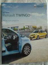 Renault Twingo range brochure Aug 2015