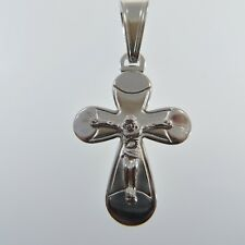 925 SILVER STERLING Cross PENDANT Jewelry (no nickel) Made in Poland #4